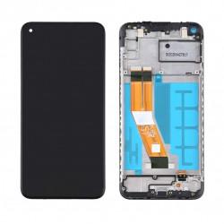 Samsung A11 Black LCD & Digitiser Complete A115f GH81-18760A