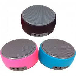 HZ-668 5W Portable Bluetooth MicroSD Speaker (3 colours)