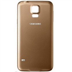 Samsung S5 Gold Battery Cover G900f i9605