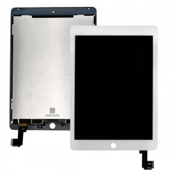 iPad Air 2 White LCD & Digitiser Complete Unit A1566 A1567