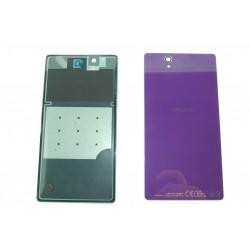 Sony Xperia Z L36h Back Cover in Purple