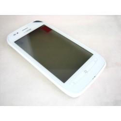 Nokia Lumia 710 Digitizer with frame in White