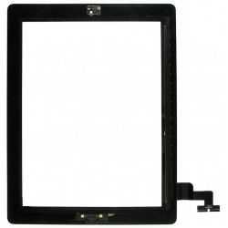 10 Pack of iPad 2 Black Digitiser with Home Button