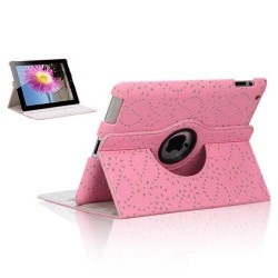 iPad Mini 360 Rotating Diamond Leaf Case