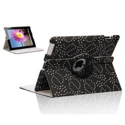 iPad Mini 2 Diamond Leaf 360 Rotating Case
