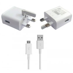 Samsung Adaptive Fast Charger EP-TA20UWE with USB Cable