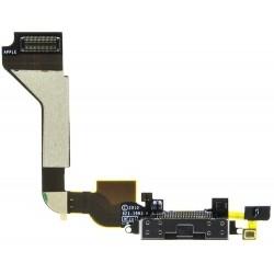 iPhone 4S Black Charging Port Flex