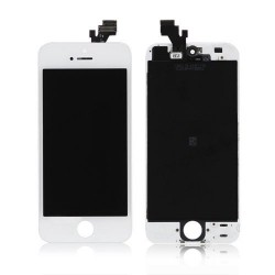 iPhone 5 White LCD & Digitiser Complete
