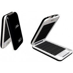 Solar Power 1500mAh Portable Emergency Charger