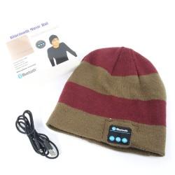 Wireless Bluetooth Beanie Hat Stereo Headset