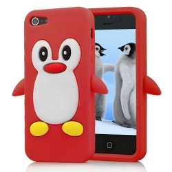 Penguin Silicone Case for iPhone 5 / 5s