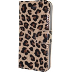 Luxury Leopard Print Wallet Flip Leather Case Cover For iPhone 5/5S
