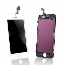 iPhone 5S White LCD & Digitiser Complete