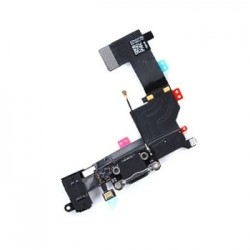 iPhone 5S Charging Port Flex Black