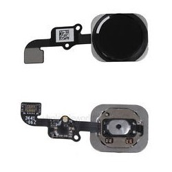 iPhone 6 Black Home Button Flex