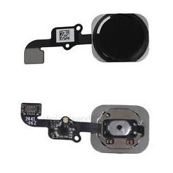 iPhone 6 / 6 Plus Black Home Button Flex