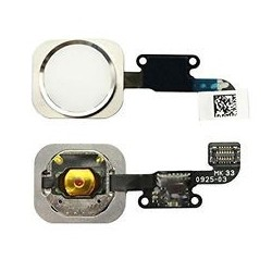 iPhone 6 / 6 Plus White Home Button Flex