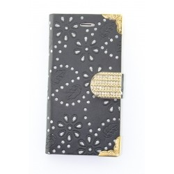Luxury Diamond Flip Wallet Leather Case Cover For iPhone 6 4.7''